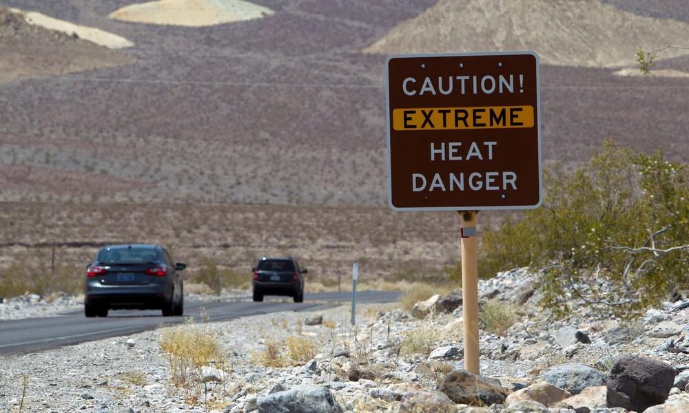 Rekordverdächtiger Hitzewert im US-Nationalpark Death Valley: 54,4 Grad gemessen
