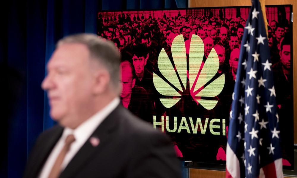 Pompeo an Verbündete: Internationale Stabilität durch Sanktionen gegen Huawei retten