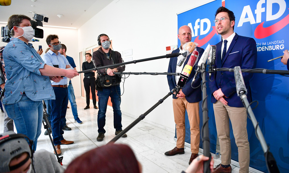Krankenhaus-Aufenthalt vom Parteifreund nach Begrüßung: Kalbitz gibt AfD-Fraktionsvorsitz auf