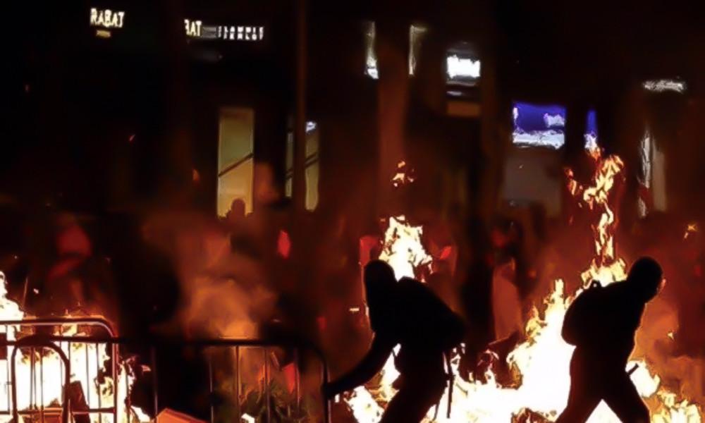 Fake-Foto: Nachrichtenagentur gibt Unruhen in Barcelona 2019 für Proteste in Weißrussland aus