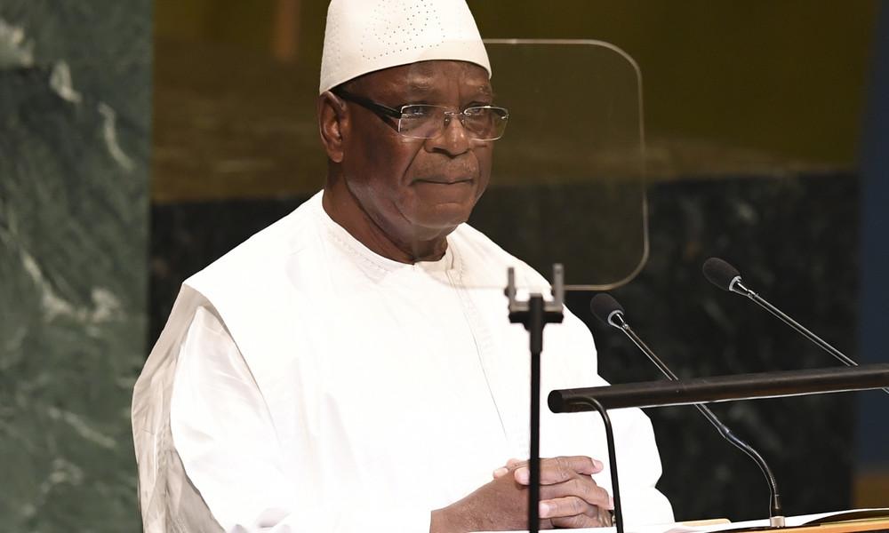 Putsch in Mali: Präsident Ibrahim Boubacar Keïta tritt zurück