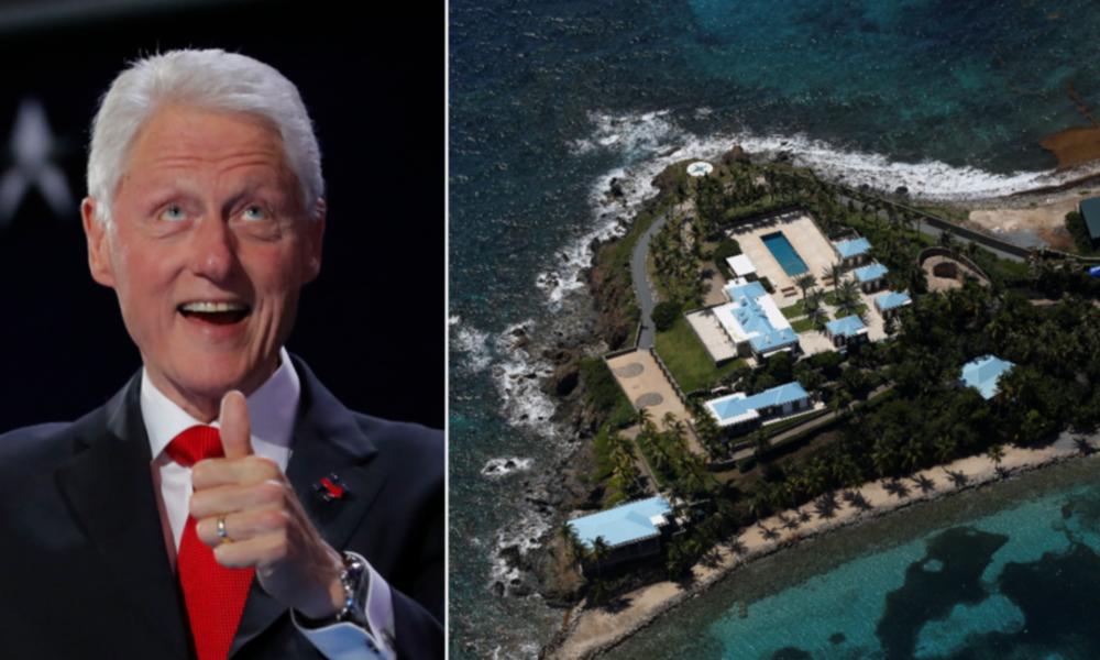 """Reise mit Epsteins """"Lolita Express"""": Geleakte Bilder zeigen Bill Clinton während Massage (Fotos)"""