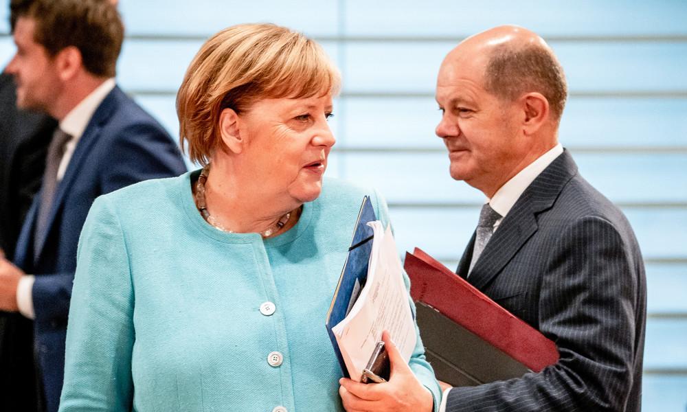 Vizekanzler Scholz spricht sich für Regime-Change in Weißrussland aus