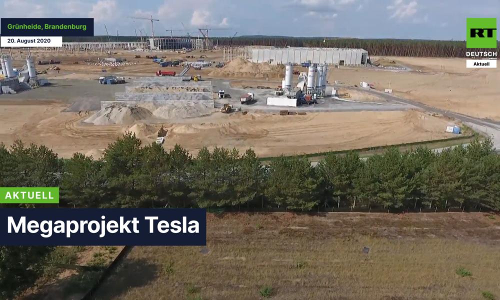 Wer braucht schon Baugenehmigungen? Gigafabrik von Tesla in Berlin-Brandenburg wächst rasant