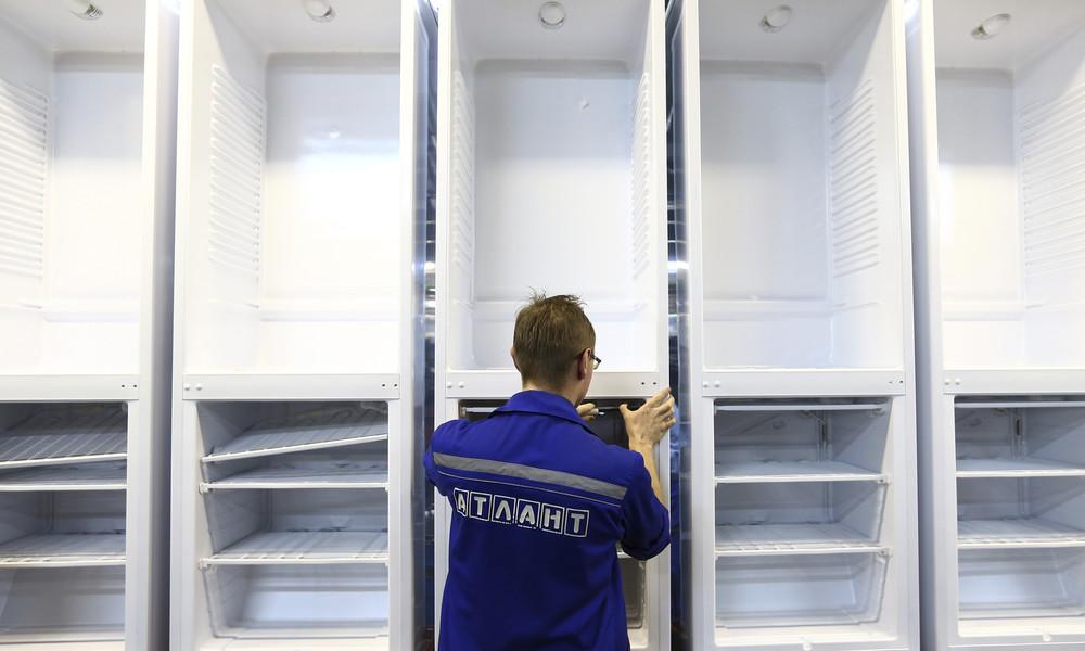 """""""Wir kommen, um zu arbeiten"""": Weißrussisches Kühlschrankwerk Atlant ignoriert Streikaufrufe"""