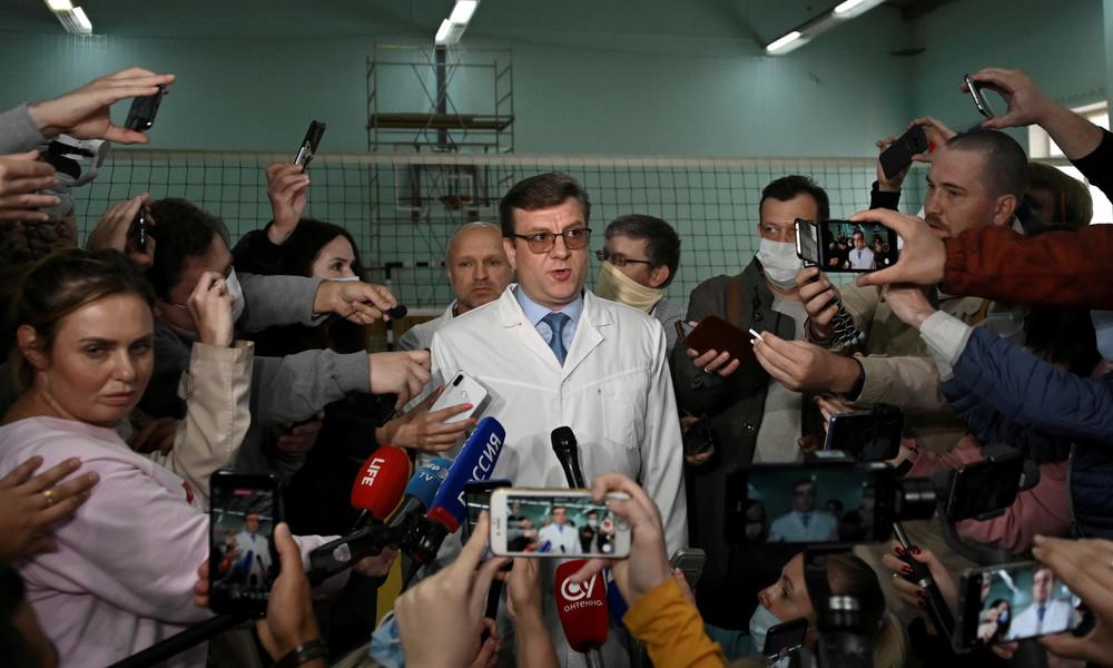 Arzt: Nawalnys vorläufige Diagnose steht fest – keine Spuren von Vergiftung nachgewiesen
