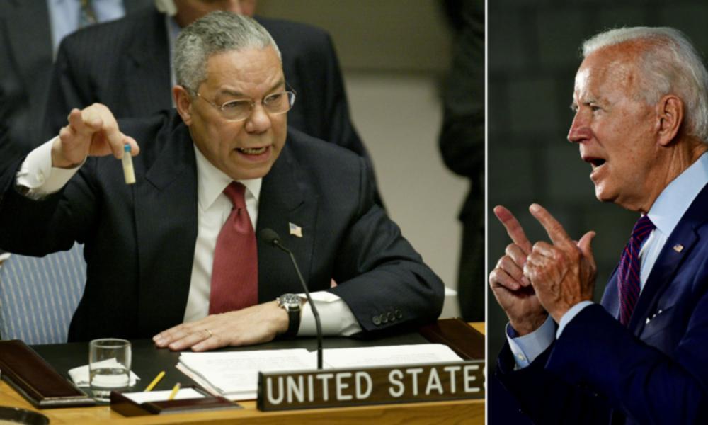Kriegstreiber und Lügner Powell: Biden wird unsere gemeinsamen Werte ins Weiße Haus zurückbringen