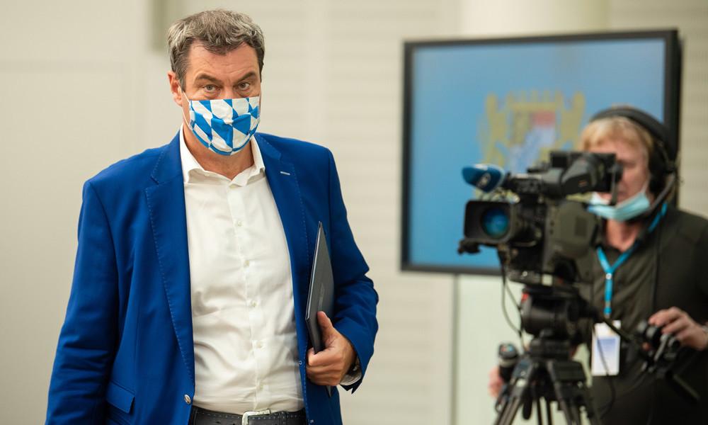 """Söder gegen weitere Corona-Lockerungen: """"Man muss die Vernünftigen vor den Unvernünftigen schützen"""""""