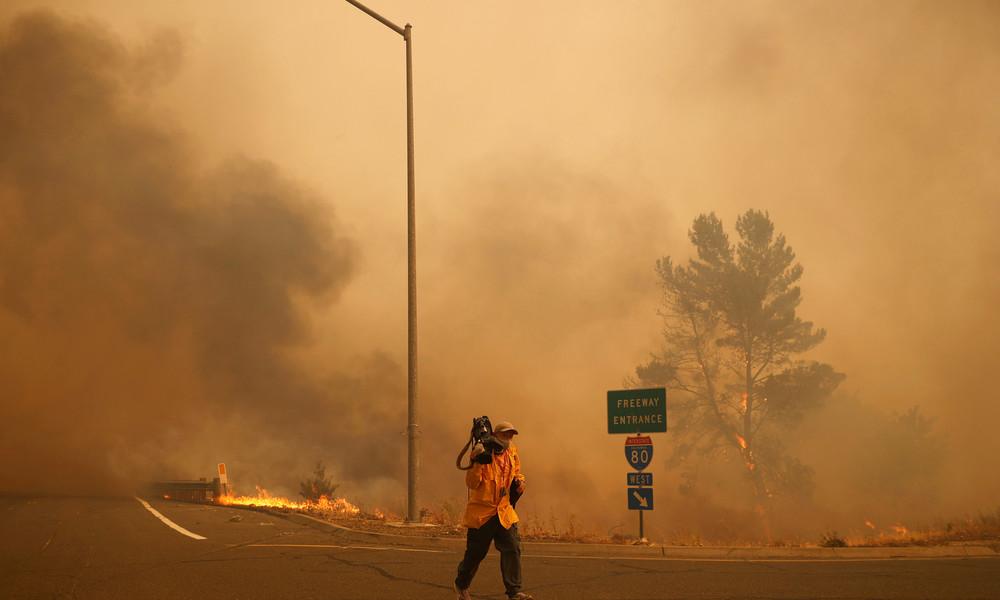 Waldbrände: Kalifornien bittet um Hilfe aus dem Ausland