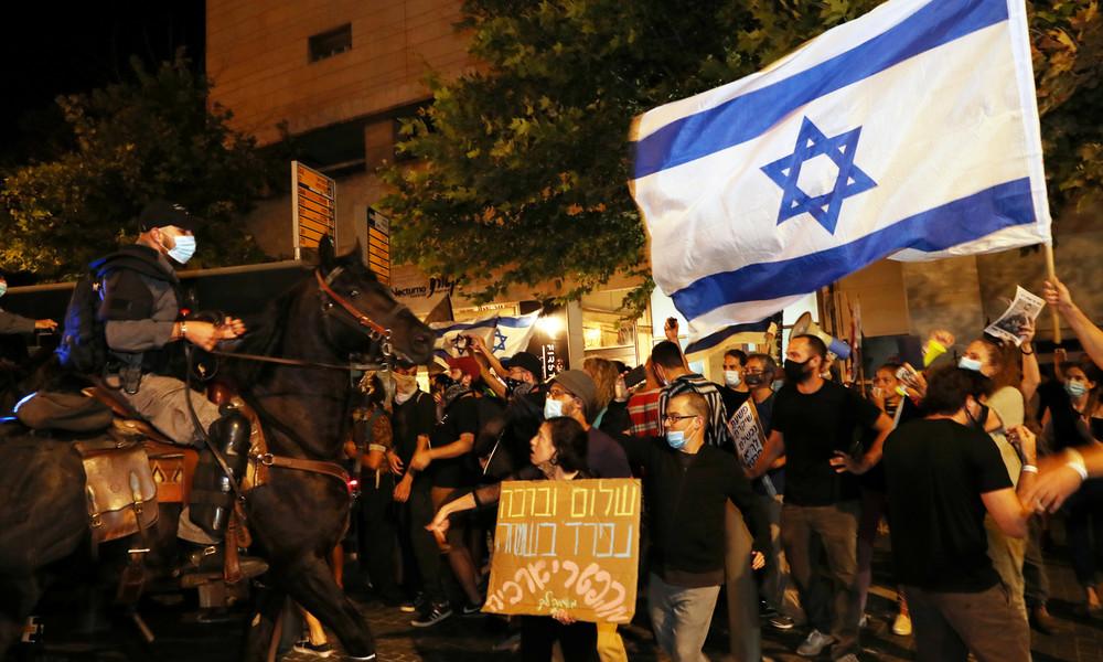 Proteste in Jerusalem: Polizei nimmt 30 Demonstranten fest