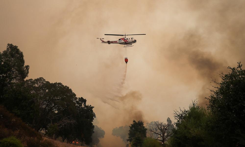 Über 14.000 Feuerwehrleute im Einsatz –Brände in Kalifornien breiten sich aus