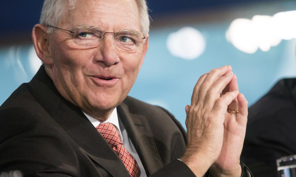 """Schäuble wittert große Corona-Chance für EU: """"Können Wirtschafts- und Finanzunion jetzt hinbekommen"""""""