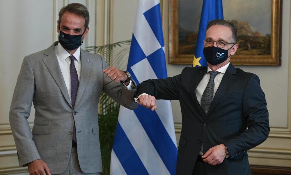 """""""Verbohrte"""" NATO-Partner: Maas will direkte Gespräche zwischen Griechenland und Türkei"""