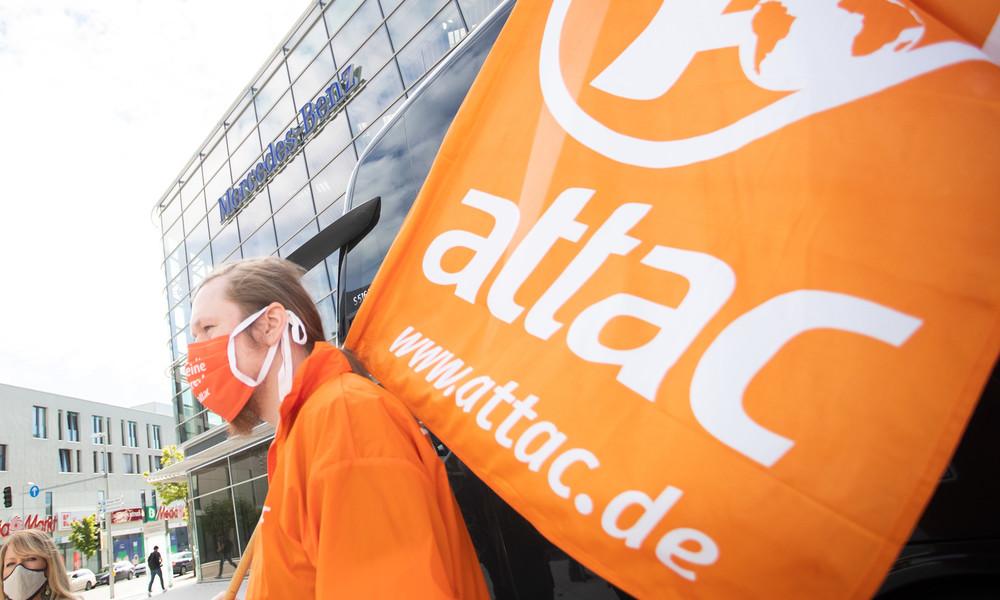 Angriff auf Attac: Wie sich die Bundesregierung unliebsame Organisationen vom Hals schaffen will