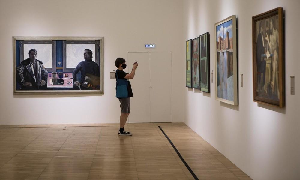 Moskau: Tretjakow-Galerie nach Sturzregen unter Wasser (Video)