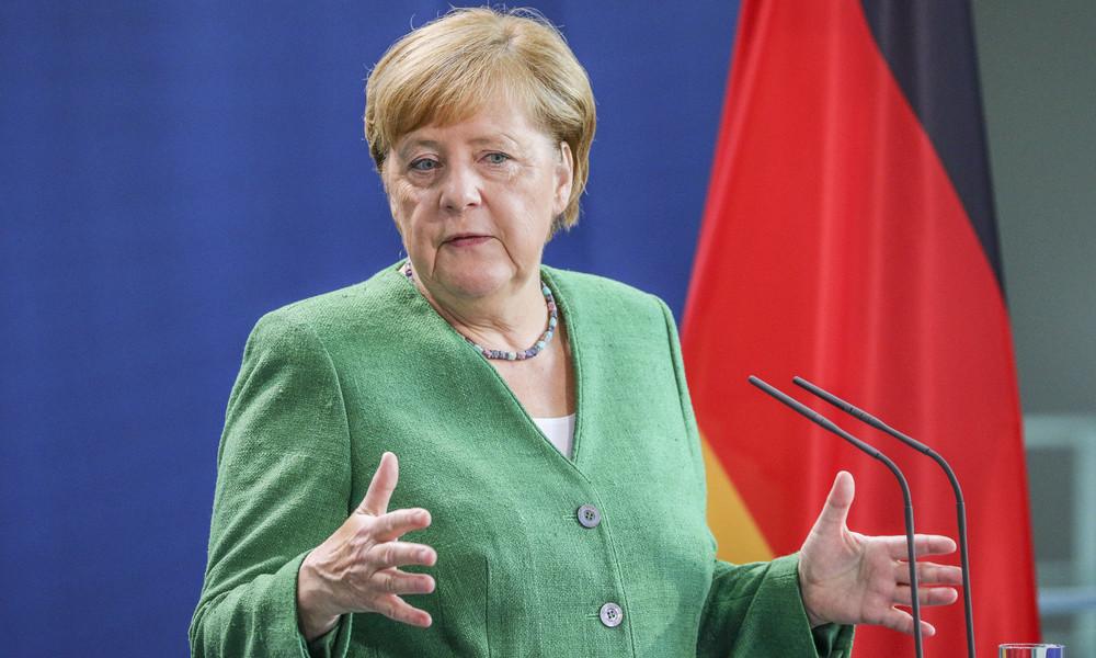 LIVE: Pressekonferenz von Kanzlerin Merkel nach Beratung mit Ministerpräsidenten