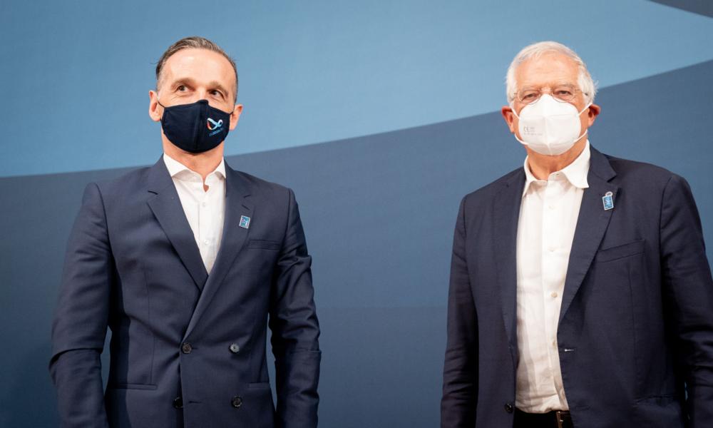 LIVE: Gemeinsame Pressekonferenz von Heiko Maas und Josep Borrell