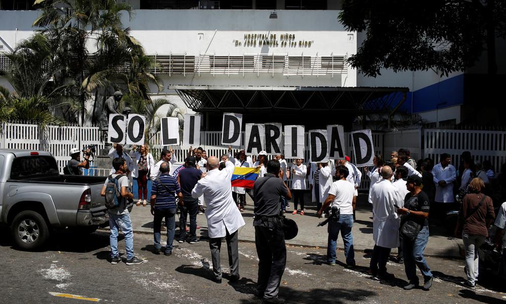 USA verschärfen erneut Sanktionen und wollen Venezuela komplett von Dieselzufuhr abschneiden