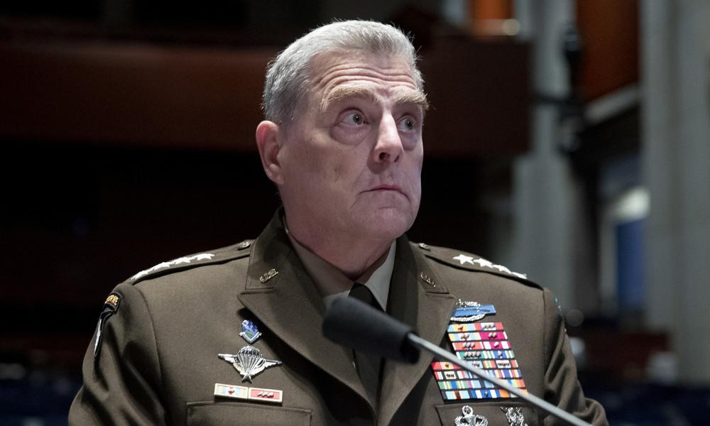 US-Generalstabschef erteilt Biden Absage: Armee wird sich nach den Wahlen nicht einmischen