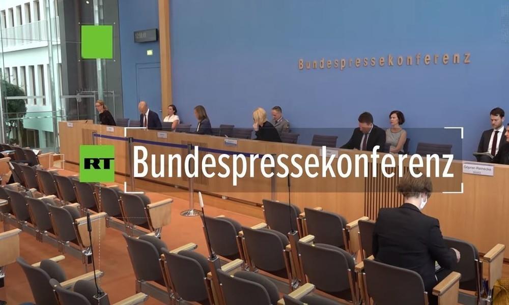 Video: Nach Corona-Großdemo in Berlin – Bundespressekonferenz