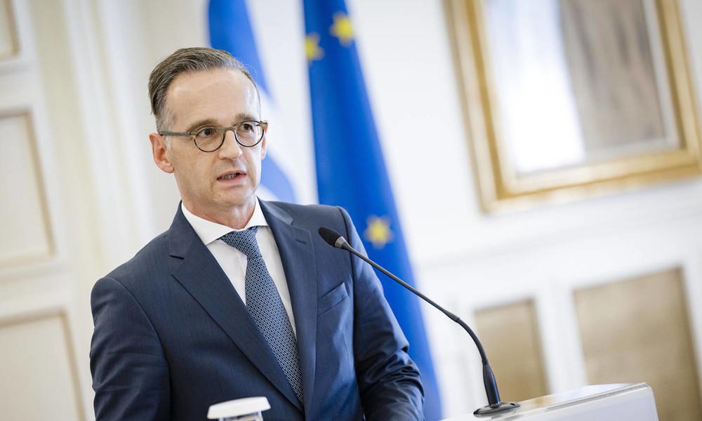 """""""Dunkle Wolken"""" über Beziehungen zu Russland: Heiko Maas pocht auf Sanktionsverlängerung"""