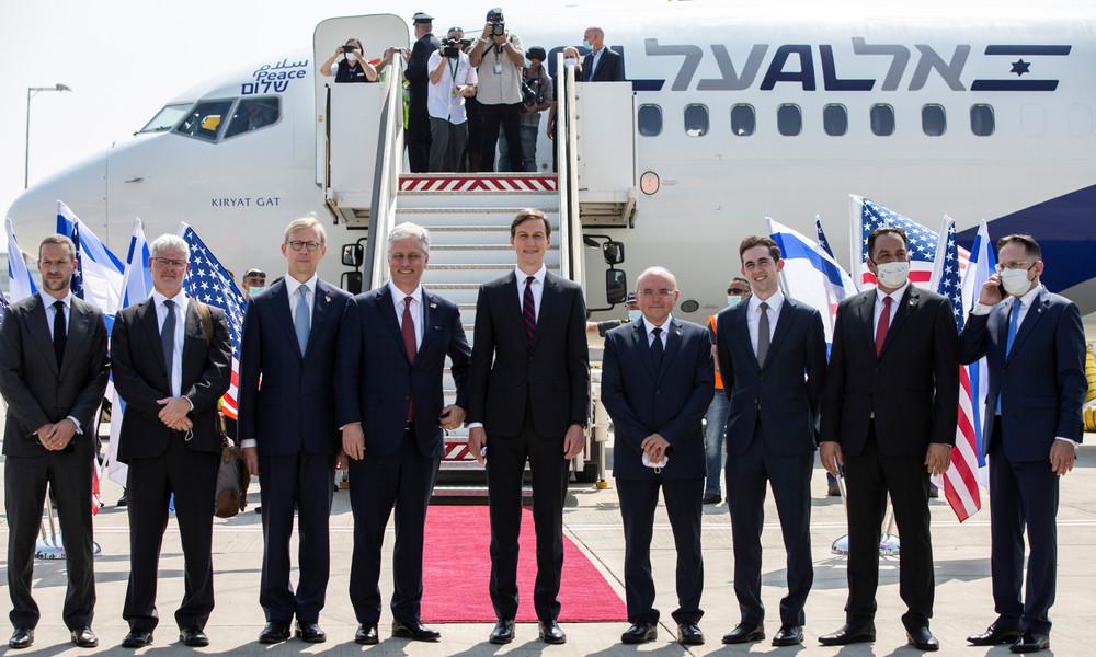 Trumps Schwiegersohn mit an Bord: Erster Direktflug zwischen Israel und den Emiraten