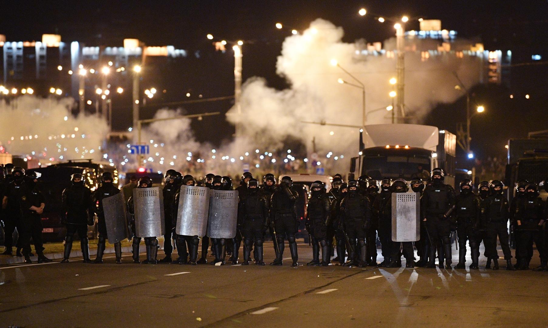 Straßenproteste in Minsk