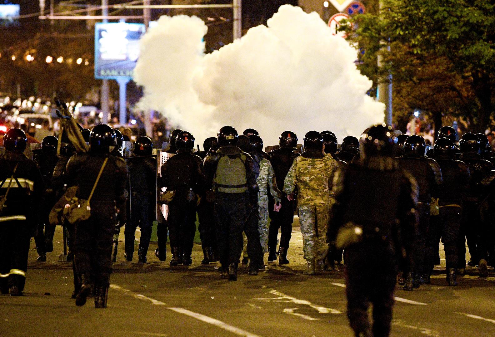 Minsker Polizei beendet Einsatz zur Vertreibung der Demonstranten von den Straßen