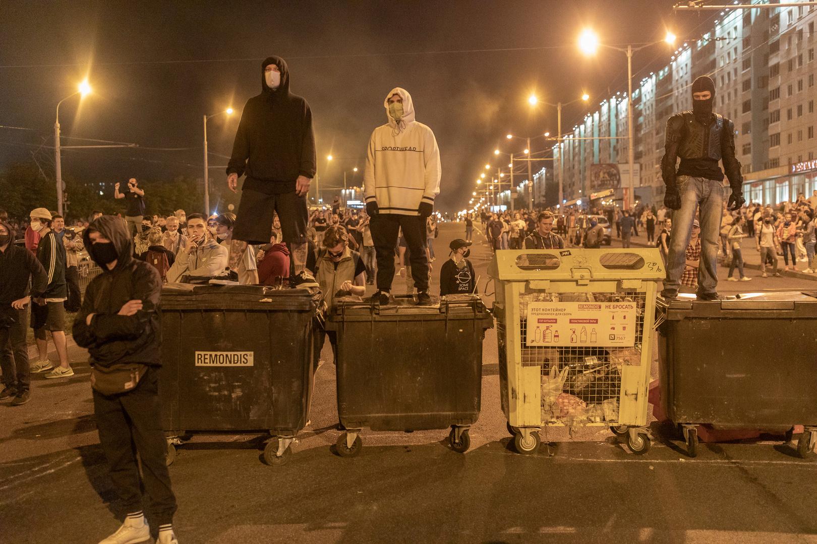 Weißrussland: Auch drei Tage nach den Wahlen Proteste und Festnahmen