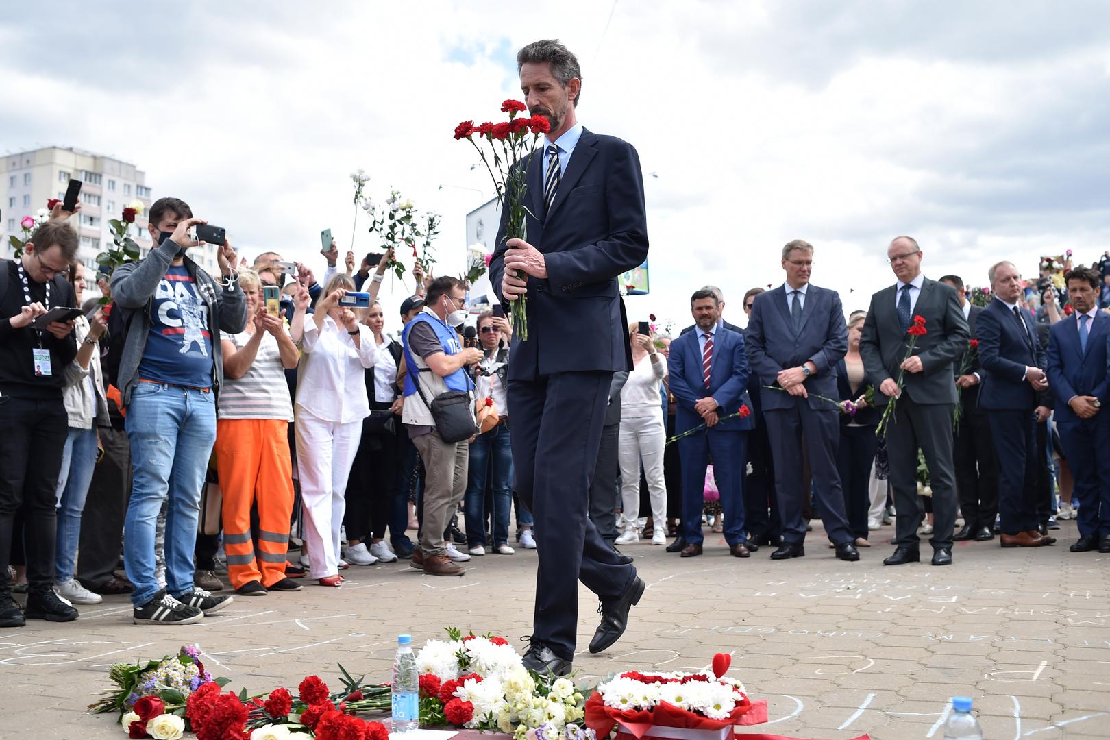 EU einigt sich auf Sanktionen gegen Weißrussland