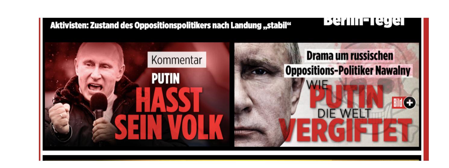 """""""Wenn in Russland etwas passiert, ist Putin schuld"""" – Die Causa Nawalny und der deutsche Hochmut"""