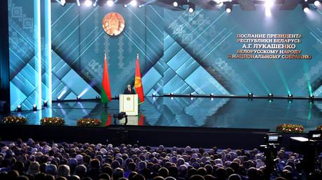 Weißrusslands Präsident Alexander Lukaschenko: