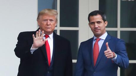 Gescheiterte Beziehung? – US-Präsident Donald Trump und der venezolanische Putschist Juan Guaidó. (Washington, 5. Februar 2020)