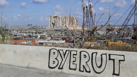 Ein Bild zeigt ein Graffiti, das das
