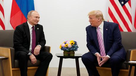 Donald Trump und Wladimir Putin beim G20-Gipfel in Osaka 2019
