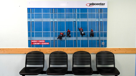 Jobcenter in Düsseldorf (Symbolbild)