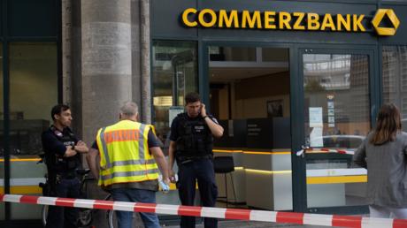 In Berlin wurden am Dienstag kurz hintereinander zwei Banken überfallen.