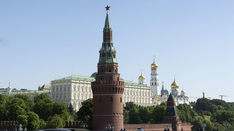 Der Kreml in Moskau, Regierungssitz des russischen Präsidenten. Dort wurde nach Meinung mancher deutscher Politiker ein Mordanschlag auf Alexei Nawalny ausgeheckt.