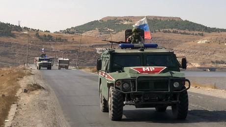 Verkehrsstreit zwischen russischen und US-Militärs in Syrien – gegenseitige Vorwürfe (Archivbild)