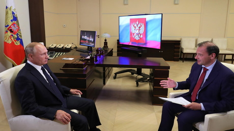 Wladimir Putin nennt Voraussetzungen für Einsatz russischer Sicherheitskräfte in Weißrussland