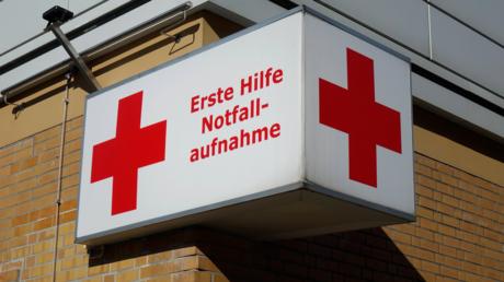 Notaufnahme der DRK-Klinik in der Drontheimer Straße in Berlin im Oktober 2018