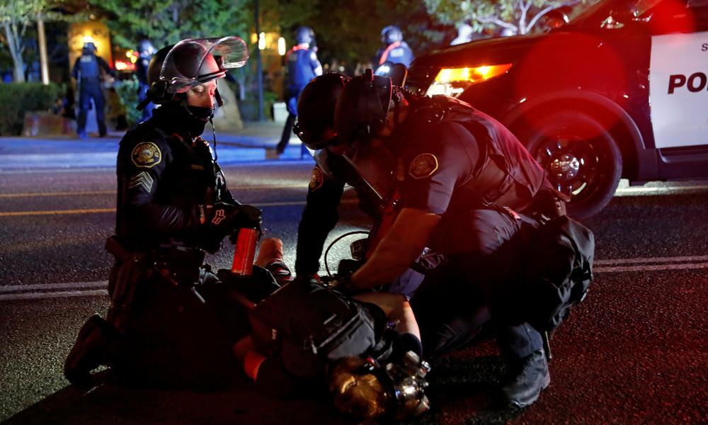 LIVE aus Portland: Weitere Proteste nach dem Tod eines Demonstranten
