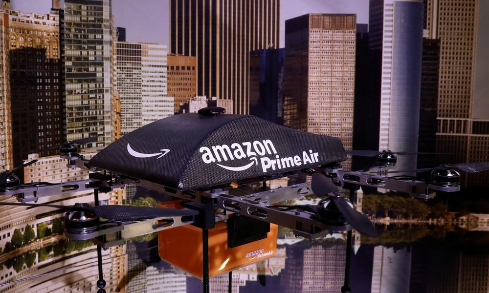 Sieben Jahre nach erstem Testflug: Amazon gibt Startschuss für Lieferungen per Drohne in den USA