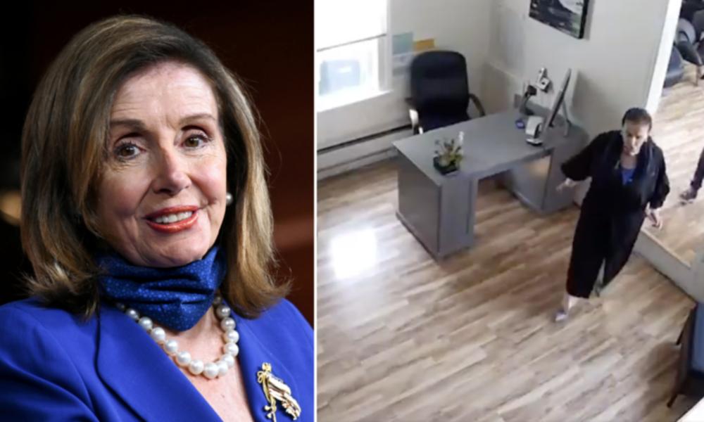 Ausnahme, wem Ausnahme gebührt: Nancy Pelosi lässt sich bei geschlossenem Friseur die Haare machen