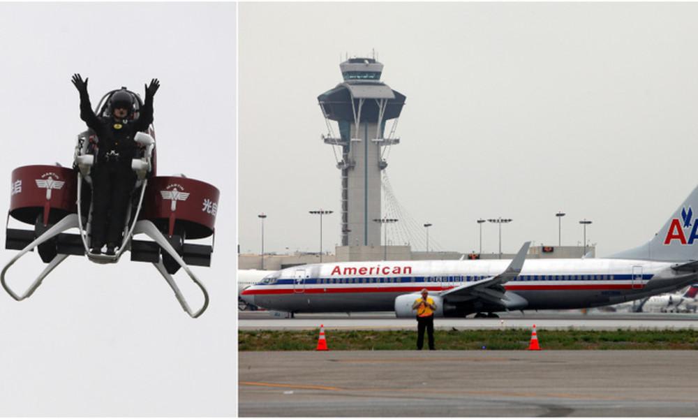 Mann fliegt mit Jetpack über Flughafen von Los Angeles – nun ermittelt das FBI