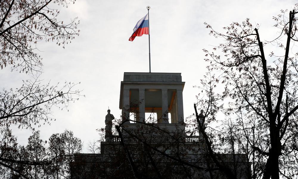 """""""Jedwede Politisierung des Vorfalls vermeiden"""": Russische Botschaft reagiert auf Anschuldigungen"""