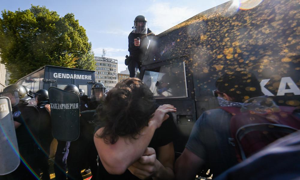 Proteste in Bulgarien werden heftiger – Polizei schlägt mit aller Härte zurück