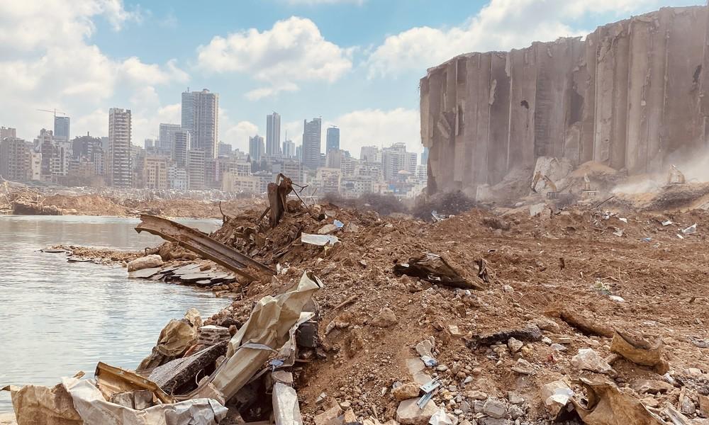 Einen Monat nach tödlicher Explosion: Weiterer Fund von Ammoniumnitrat im Hafen von Beirut