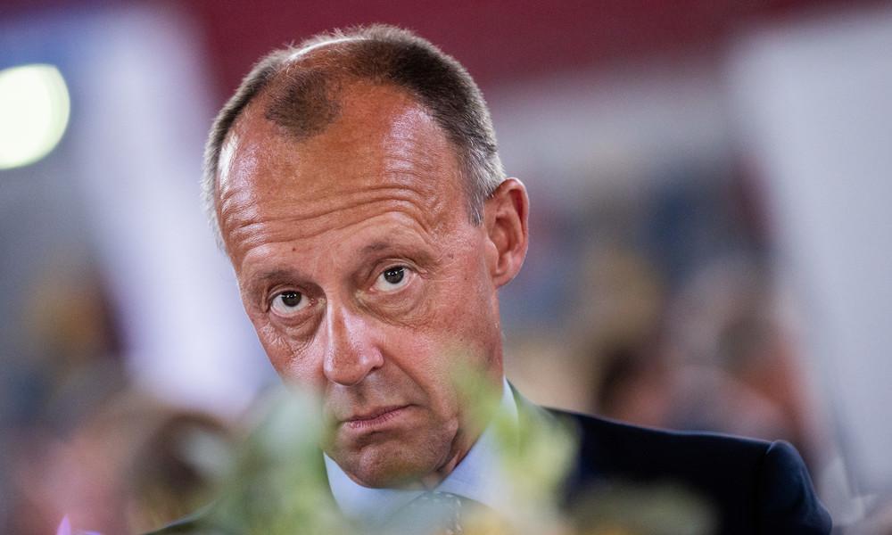 """Opportunist der Macht? Auch Merz fordert """"Baustopp"""" für Nord Stream 2"""