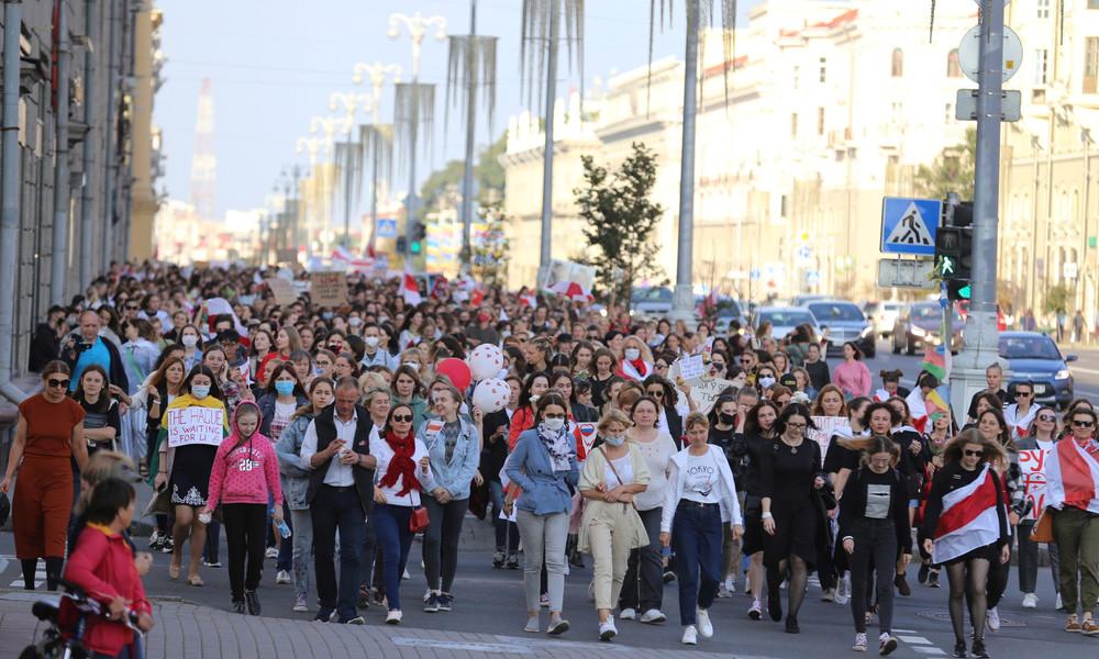 LIVE aus Minsk: Proteste gegen Regierung von Alexander Lukaschenko gehen weiter